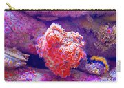 Anemones In Monterey Aquarium-california   Carry-all Pouch