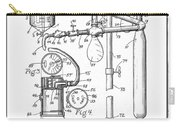 Anesthetic Machine Patent 1919  Carry-all Pouch