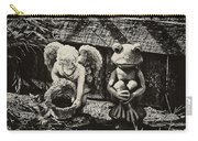 Angel And Frog Carry-all Pouch