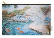 Angel And The Fishes  Flying-lamb-productions  Carry-all Pouch