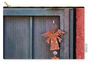 Angel At The Door Carry-all Pouch by Carol Leigh