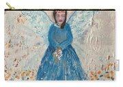Angel In Blue Carry-all Pouch