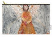 Angel In Orange Carry-all Pouch