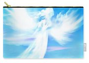 Angel In Thick Paint Carry-all Pouch
