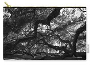 Angel Oak Limbs Bw Carry-all Pouch