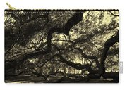 Angel Oak Limbs Sepia Carry-all Pouch