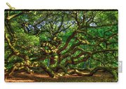 Angel Oak Morning Shadows Charleston South Carolina Carry-all Pouch