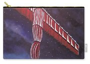 Angel Of The North Christmas Carry-all Pouch