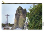 Angel On Graveyard Carry-all Pouch