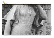 Angel On The Ground At Cavalry Cemetery, Nyc, Ny Carry-all Pouch