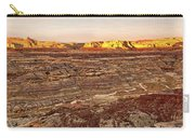 Angel Peak Badlands - New Mexico - Landscape Carry-all Pouch