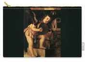 Angel Playing Music Carry-all Pouch