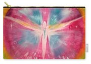 Angel Shining On Your Path Carry-all Pouch