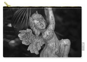 Angel Statue Hanging On Carry-all Pouch
