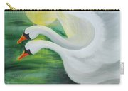 Angel Swans Carry-all Pouch