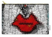 Angel Wings Brings Love And Peace Carry-all Pouch