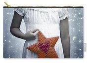 Angel With A Star Carry-all Pouch