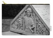 Angel With Horn Carving Carry-all Pouch