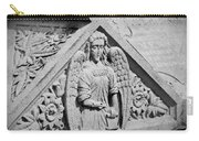 Angel With Scroll Carving Carry-all Pouch