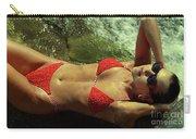 Angela Red Bikini-0721 Carry-all Pouch