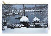 Angelique And Lewis R French In The Snow Carry-all Pouch