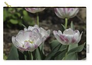Angelique Peony Tulips Squared Carry-all Pouch
