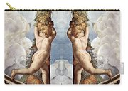 Angels And Fruits Carry-all Pouch