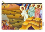 Angels And Shepherds Carry-all Pouch