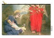 Angels Entertaining The Holy Child Carry-all Pouch by Marianne Stokes