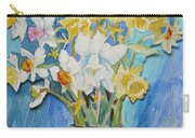 Angels Flowers Carry-all Pouch
