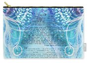Angels Ketubah-reformed And Interfaith Version Carry-all Pouch