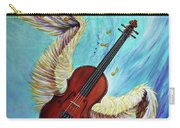 Angel's Song Carry-all Pouch by Nancy Cupp