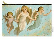 Angels Three Children Vintage Carry-all Pouch