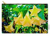 Angel's Trumpets At Pilgrim Place In Claremont-california Carry-all Pouch