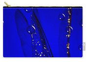 Angels Wings Blue Carry-all Pouch