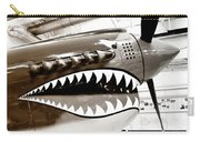 Anger Management Bw Palm Springs Air Museum Carry-all Pouch