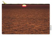 Angler In Summer Sunset Carry-all Pouch