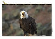 Angry Bald Eagle Carry-all Pouch