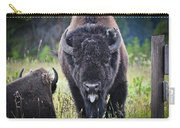 Angry Bison Carry-all Pouch