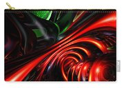 Angry Clown Abstract Carry-all Pouch