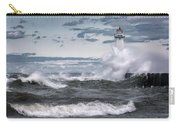 Angry Waters Of Lake Ontario Carry-all Pouch