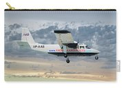 Anguilla Air Services Britten-norman Bn-2a-26 Islander 114 Carry-all Pouch