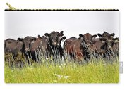 Angus Heifers Carry-all Pouch