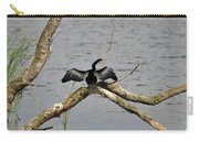 Anhinga And Alligator Carry-all Pouch