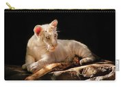 Animal - Cat - A Baby Snow Tiger Carry-all Pouch