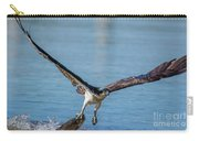 Animal - Bird - Osprey Catching A Fish Carry-all Pouch