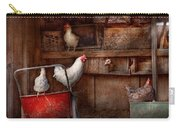 Animal - Chicken - The Duck Is A Spy  Carry-all Pouch by Mike Savad