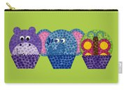 Animal Cupcakes 2 Carry-all Pouch