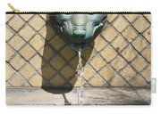 Animal Fountain Head Carry-all Pouch by Teresa Mucha