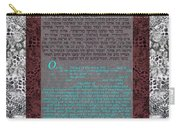 Animal  Ketubah- Reformed And Interfaith Version Carry-all Pouch